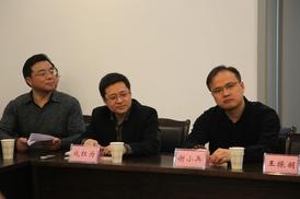 南通市委宣传部和如东县委宣传部参会人员(左图右一为作者刘剑波)